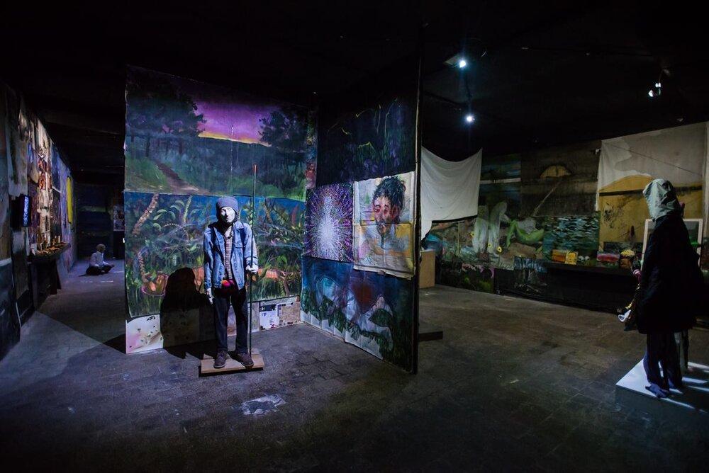 Выставка Евгения Самборского «Вниз кролячою норою». 2018. Closer. Фото: Наталка Дяченко