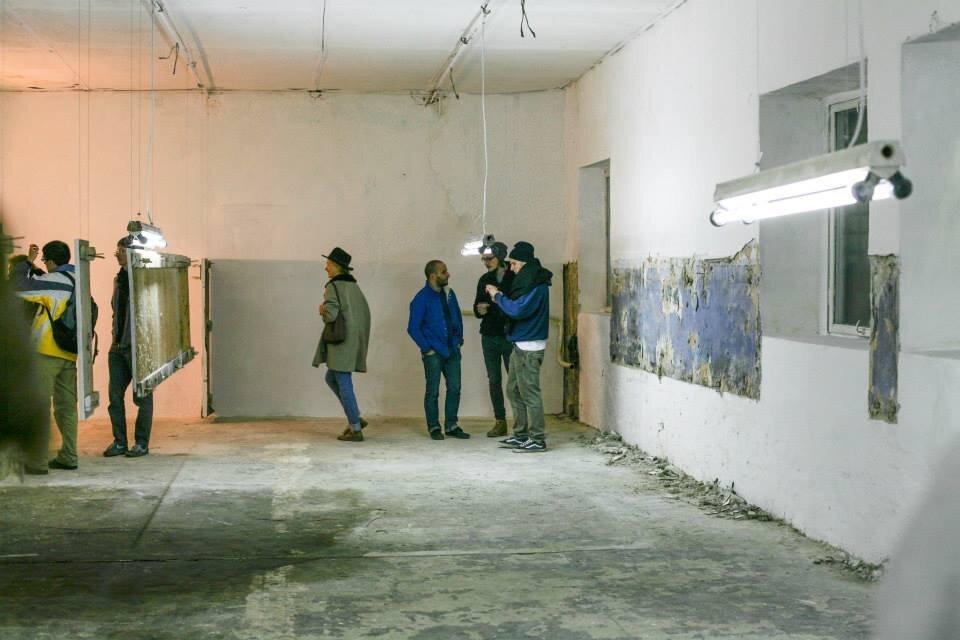 Выставка Открытой группы «Место». 2013. Closer. Фото: Евгения Джулай