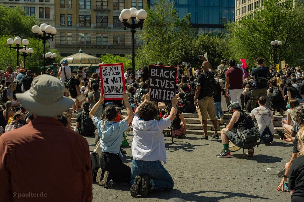 Протести Нью-Йорка 31 травня—8 червня. Джерело: Instagram @paulterrie