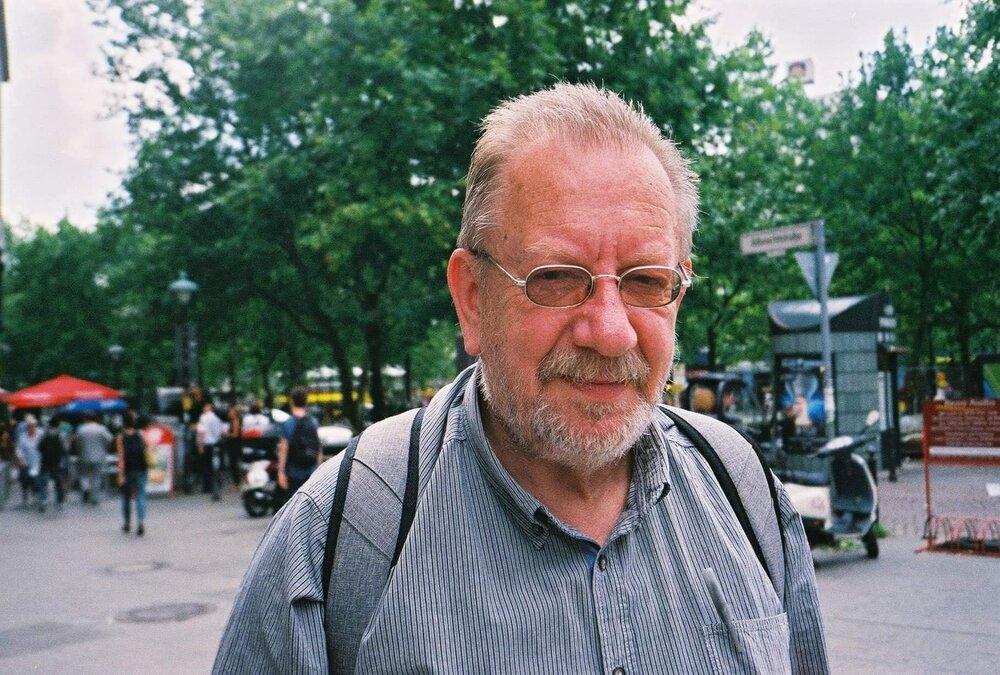 Віктор Марущенко в Берліні, 2014 рік. Фото надано Ганною Грабарською