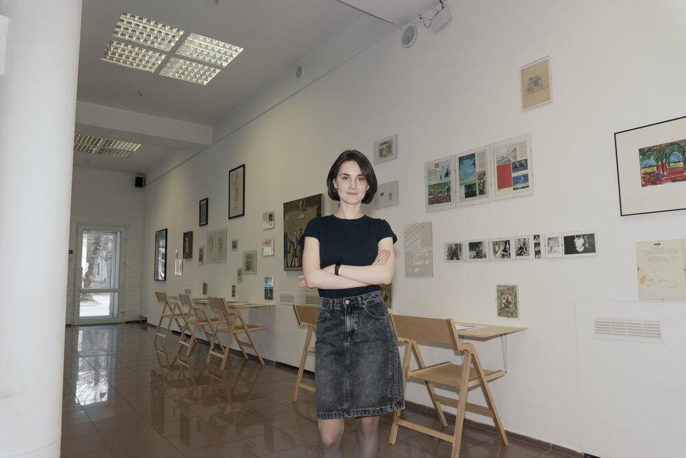 Ірина Полікарчук, директорка галереї Артсвіт