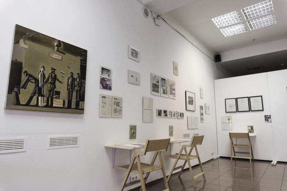 Виставка Олега Голосія в межах співпраці з київською галереєю The Naked Room