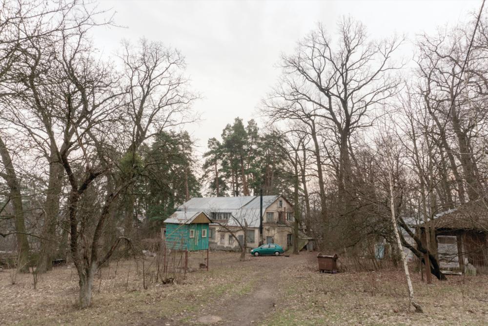 Споруди майстерень членів НСХУ на Сошенка, 33