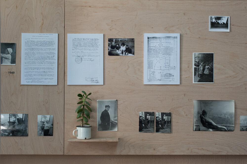 Фрагмент експозиції виставки «Спільна межа». Фото: Анна Сорокова