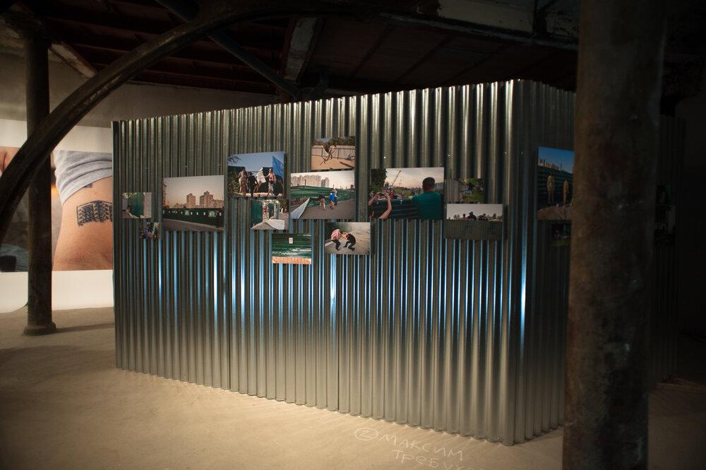 Експозиція виставки «Демонтаж», Мадрид, 2019. Фото: Анна Сорокова