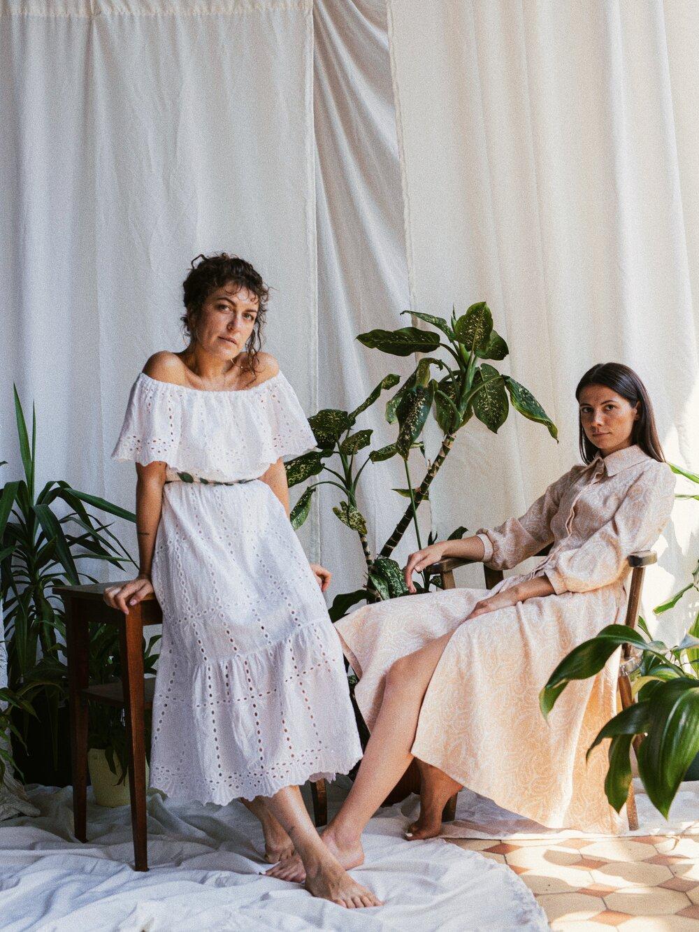Світлана Левченко та Каріна Качуровська. Фото: Марина Ярова