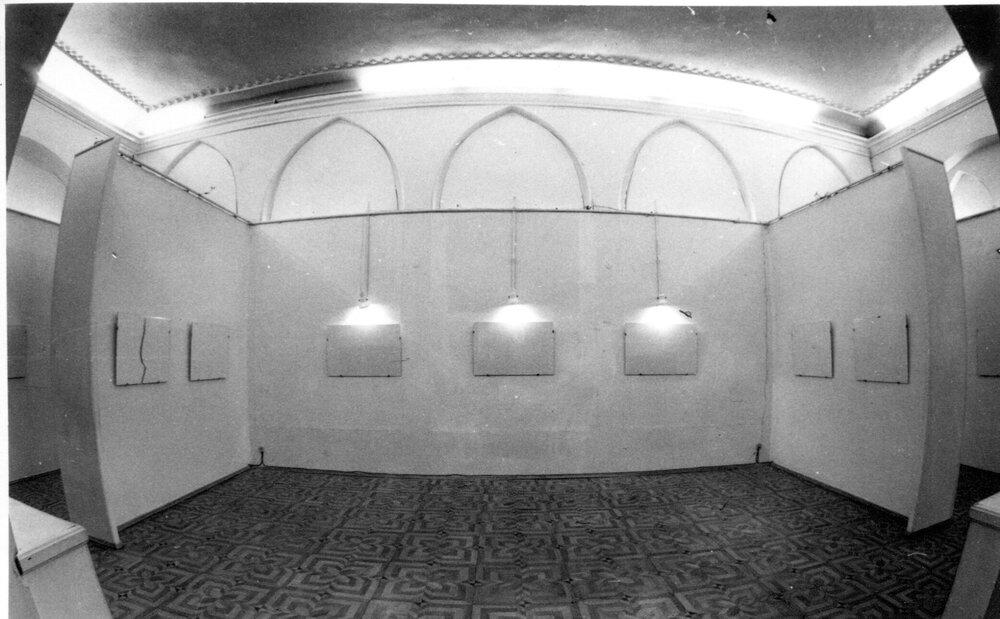 Експозиція виставки «Нулевая печать», «ТИРС», 1994, надано МСМО