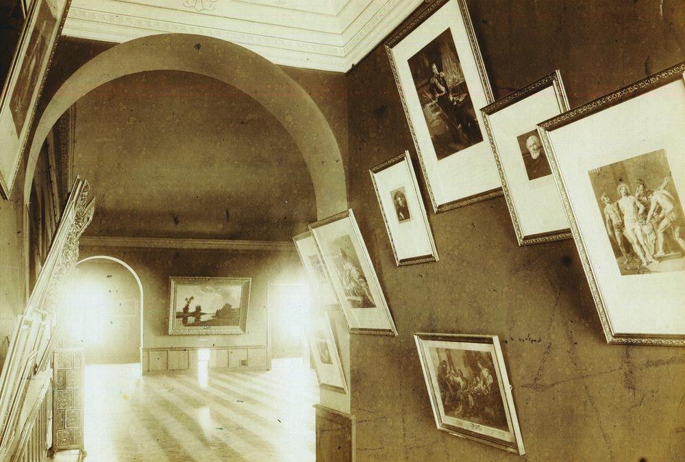 Зала №21, 1900. Фото: А. І. Горнштейн, надано ОХМ