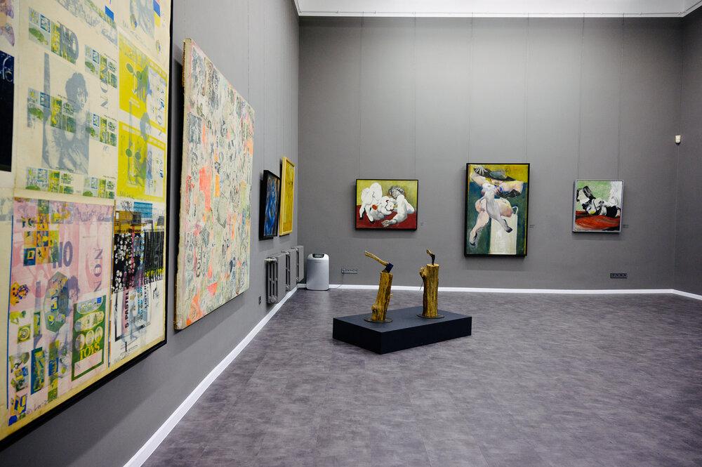Виставка Бориса Лур'є «Змінена людина». Фото: Іван Страхов, надано ОХМ