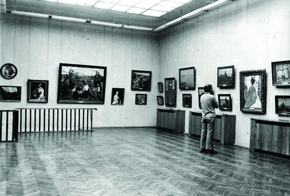 Серебряковська зала, зала №14, 1990-ті, надано ОХМ