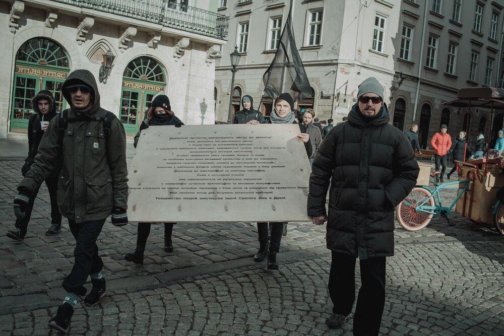 Мітинг про створення муніципального центру, 17 листопада 2018 року