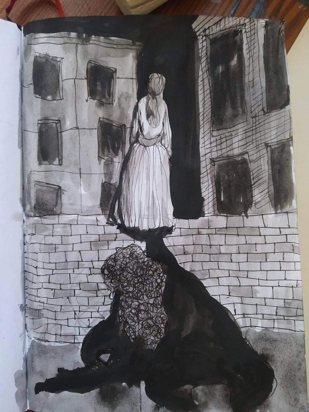 Катя Лисовенко. З серії «Арт-терапія», 2020
